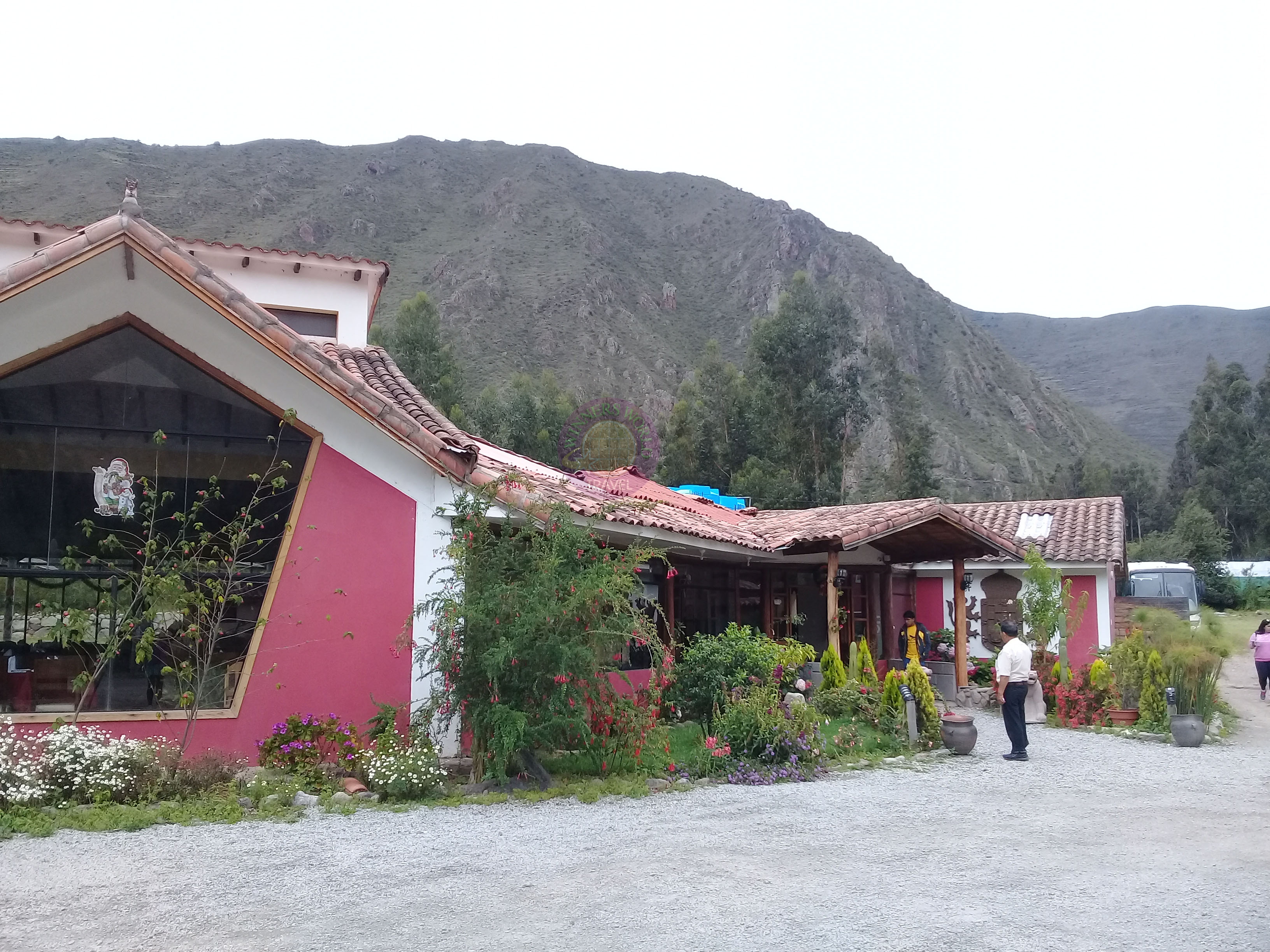 Lunch at Urubamba, Sacred Valley tour day.